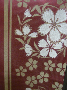 桜の京袋帯